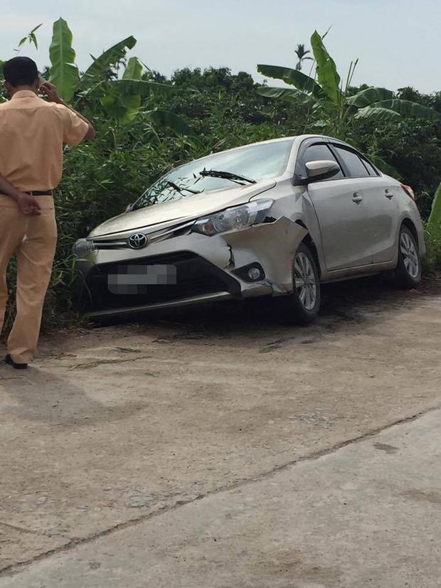 Chiếc xe ô tô của nạn nhân.
