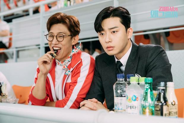 Thư ký Kim: Park Seo Joon nổi cơn ghen khi Park Min Young thân mật với Changsung (2PM)