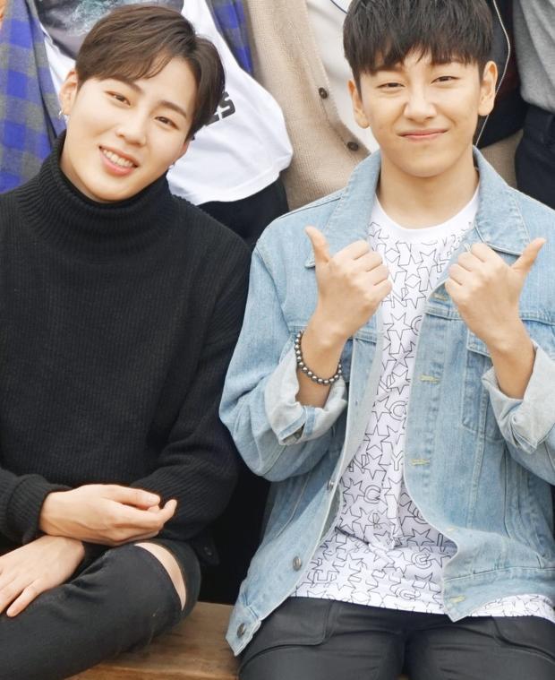 Đôi bạn thân Sung Woon và Tae Hyun.