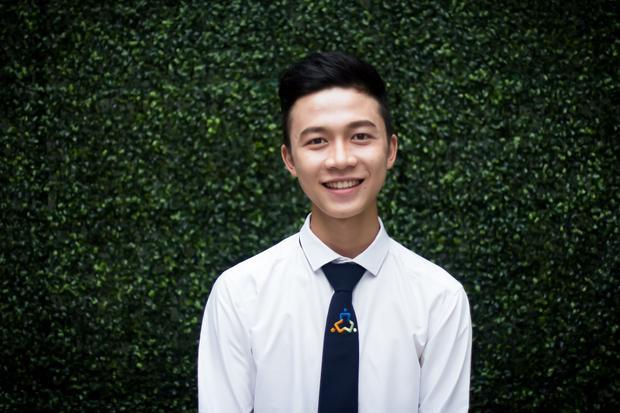 Nguyễn Tấn Đăng Duy - Giải 3 cuộc thi Nét đẹp sinh viên 2018.