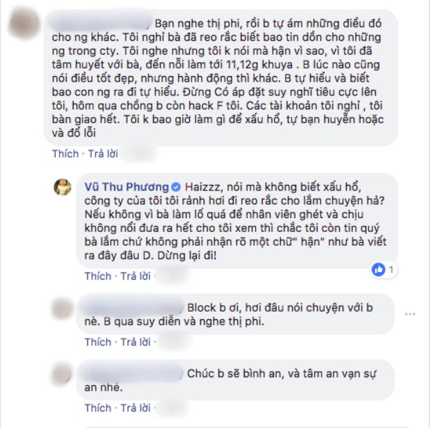 Bị bạn thân 13 năm đâm sau lưng, Vũ Thu Phương dằn mặt cảnh cáo