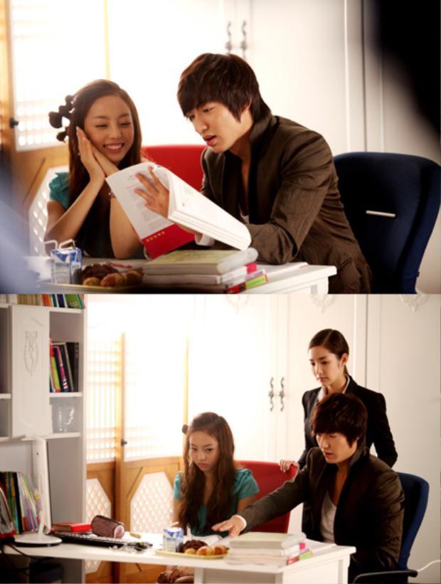 Goo Hara (cựu thành viên KARA) gửi xe coffee cực sang chảnh cho Park Seo Joon và Park Min Young