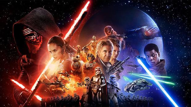"""""""Infinity War"""" từng đánh bại """"The Force Awakens"""" ở hạng mụcdoanh thu mở màn cuối tuần."""