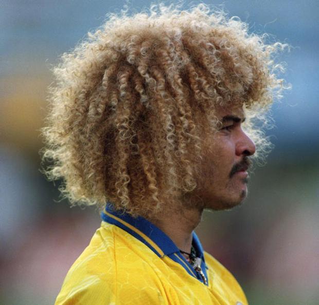 2. Carlos Valderrama - ĐT Colombia: World Cup 1994.