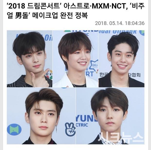 Báo Hàn đưa tin về những idol có ngoại hình như búp bê. Ngoài Renjun, thành viên Jaehyun của NCT cũng lọt top.