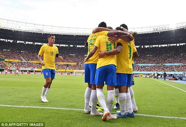Trí tuệ nhân tạo dự đoán Brazil vô địch World Cup 2018.