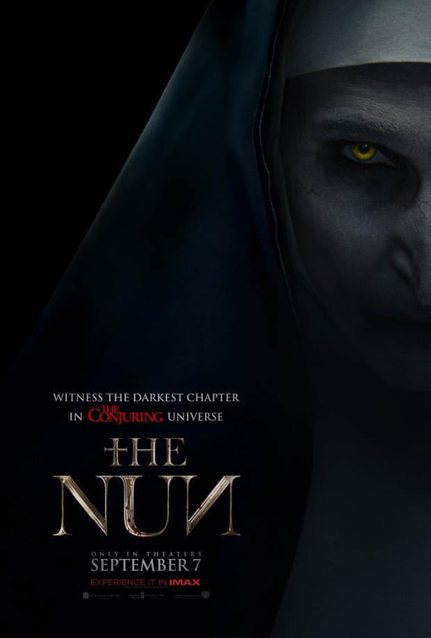 """Poster mới được công bố của """"The Nun""""."""