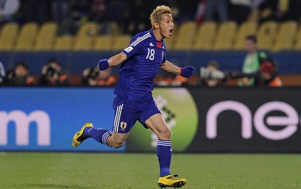 Đội tuyển Nhật Bản có lực lượng cầu thủ thi đấu ở nước ngoài khá đồng đều