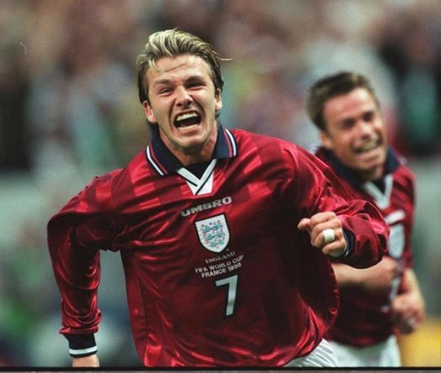 Beckham được kỳ vọng sẽ là người mang về chiến thắng cho ĐT Anh trước Argentina sau khi tỏa sáng ở vòng bảng