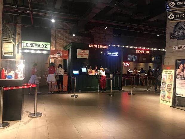 Rạp chiếu phim nơi xảy ra sự việc.