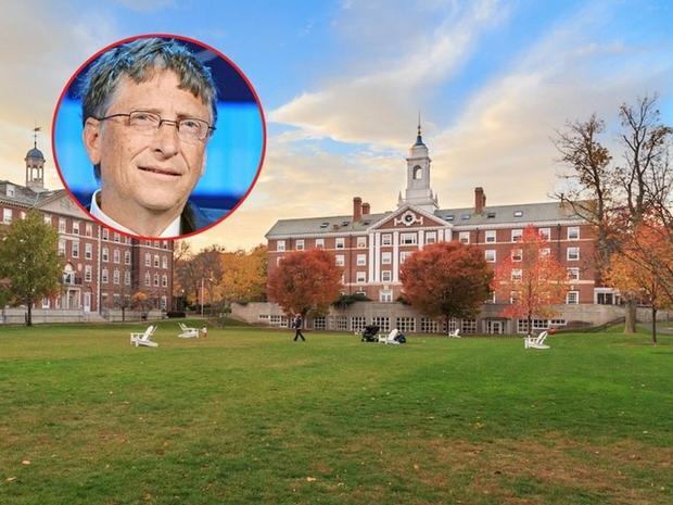 10 người giàu nhất nước Mỹ từng là sinh viên trường Đại học nào?