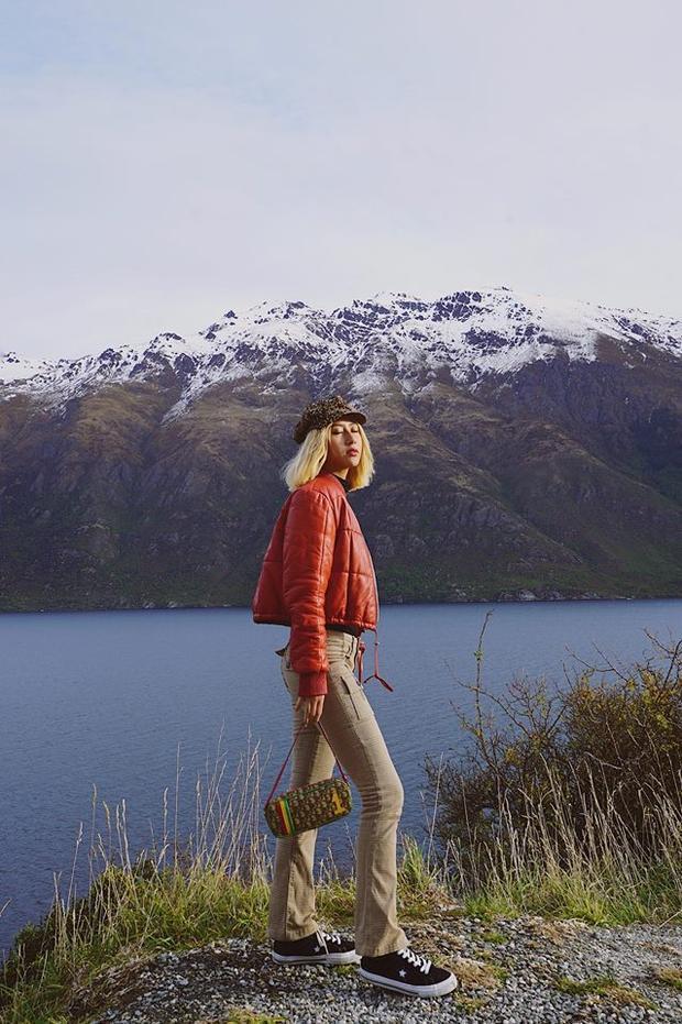 Mùa hè sang chảnh của Quỳnh Anh Shyn: Lái xe vòng quanh New Zealand, leo núi bằng trực thăng