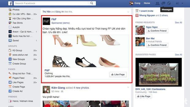 Facebook sẽ cấm cửa những ai bán hàng online có quảng cáo gây khó chịu