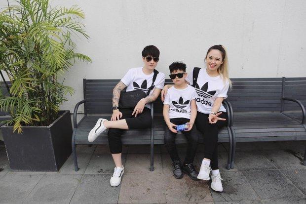 Gia đình nhỏ 3 người