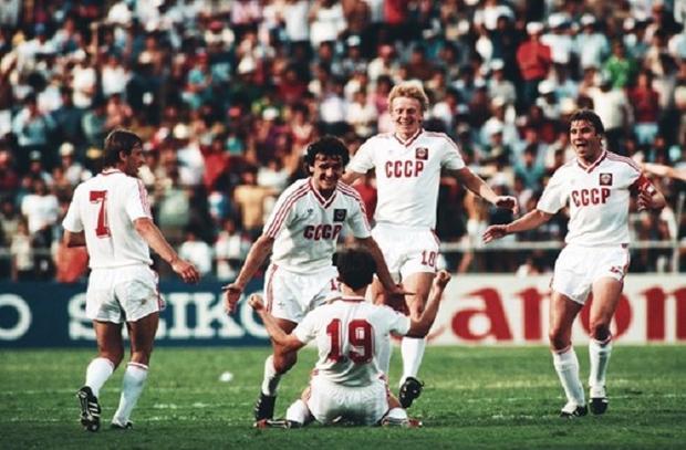 Bóng đá Liên Xô từng là 1 thế lực ở châu Âu cũng như trên bình diện thế giới