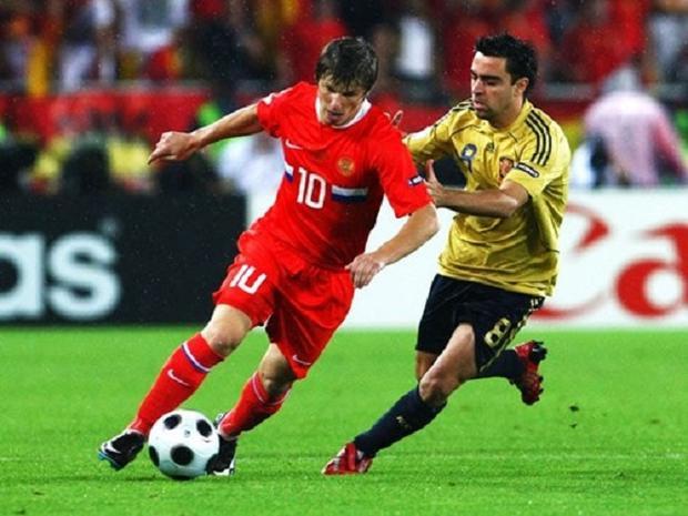 Sau khi Liên Xô tan rã, ĐT Nga là lực lượng kế thừa trực tiếp nhưng chỉ có EURO 2008 là giải đấu để lại ấn tượng