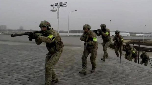 Lực lượng an ninh Nga được huấn luyện để đối phó với một vụ tấn công khủng bố có thể xảy ra trong World Cup.