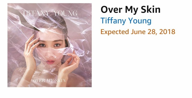 Nếu đúng như thông tin đang lan truyền rất nhiều trên mạng, Tiffany sẽ trở lại với 1 album mang tên Over My Skin, sản phẩm sẽ lên kệ vào ngày 28/6.