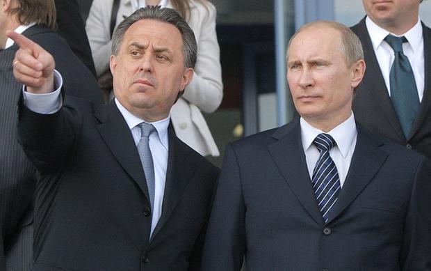 Ông Mutko được cho là bạn thân của tổng thống Putin và là người được Putin trực tiếp giao nhiệm vụ bằng mọi cách đưa World Cup về nước Nga.