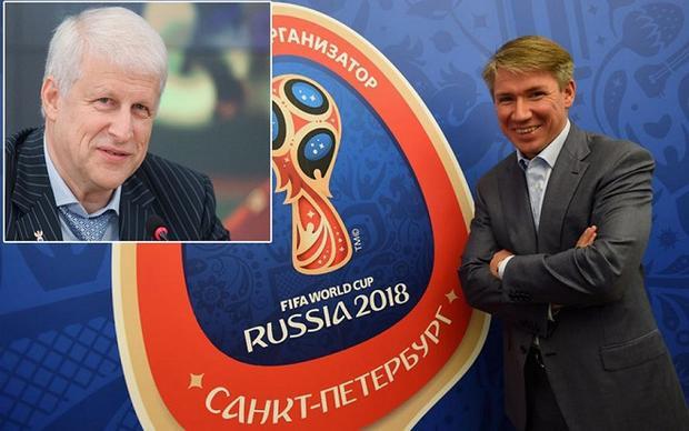 Alexei Sorokin, Giám đốc điều hành của chiến dịch vận động, và Sergei Fursenko, chủ tịch mới của LĐBĐ Nga từng có mâu thuẫn trong kế hoạch vận động nhưng cuối cùng mọi thứ đã được giải quyết êm thấm.