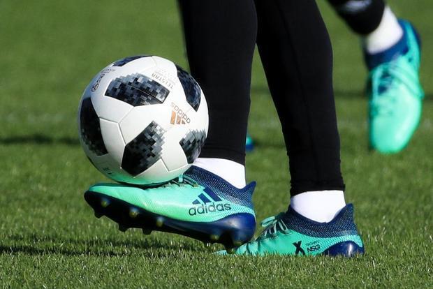 Đây là Telstar 18, trái bóng chính thức của World Cup 2018.