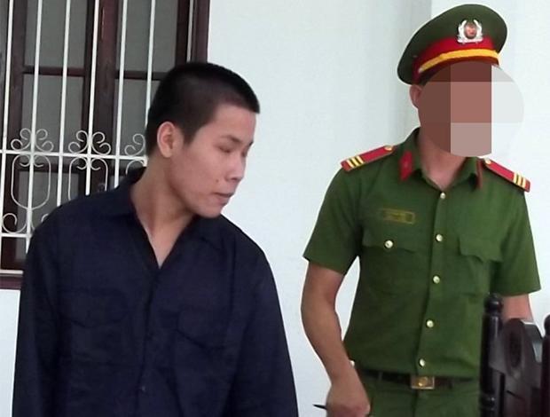 Bị cáo Vĩnh tại tòa. Ảnh: Vietnamnet.