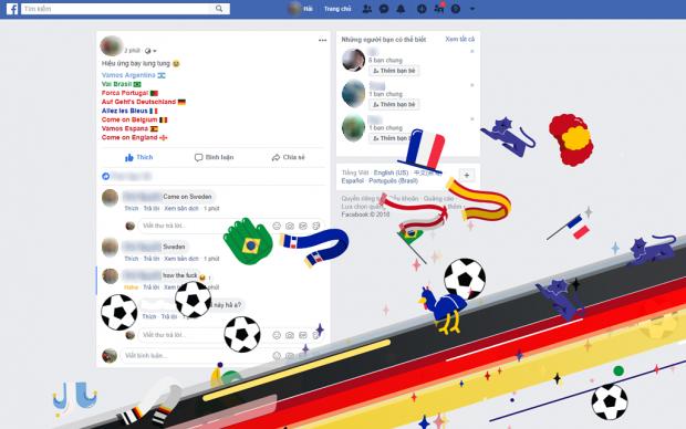 Facebook có thêm loạt hiệu ứng siêu thú vị mùa World Cup, bạn đã thử chưa?