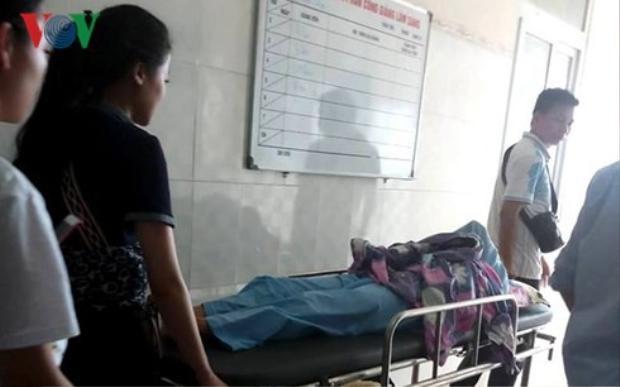 Chị G hiện đang được điều trị tại bệnh viện