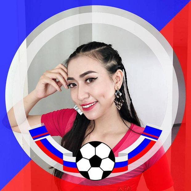 Nữ cổ động đội Nga tại Nóng cùng World Cup giàu thành tích thi hoa khôi