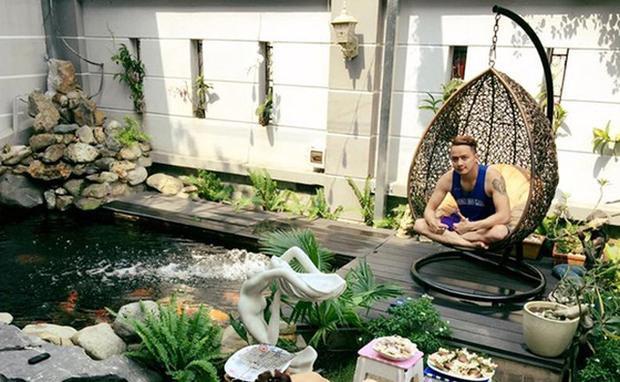 Đây là nơi thư giãn được Cao Thái Sơn đặc biệt yêu thích.