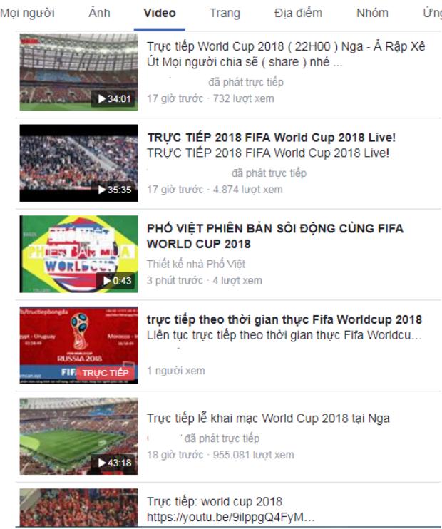 Việt Nam đối mặt nguy cơ bị cắt sóng World Cup 2018 vì nạn livestream lậu