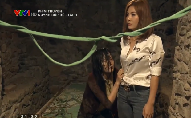 Chỉ mới tập 1, Quỳnh búp bê khiến người xem bị shock vì chuyện buôn người và động chứa gái