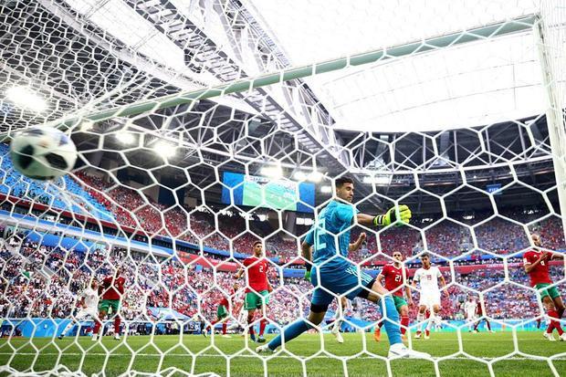 Cuối cùng, Iran kết liễu đối thủ ở cuối trận đấu. Ảnh: FIFA
