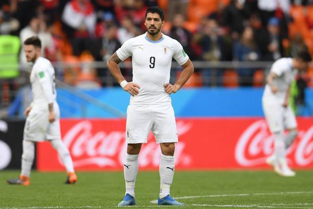 Suarez có trận đấu đáng quên trước Ai Cập.
