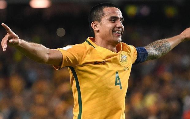 Cahill trở thành niềm hy vọng của đội tuyển Australia trước đội tuyển Pháp.