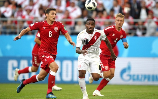 Đội tuyển Peru tỏ ra kém duyên trong những tình huống dứt điểm.