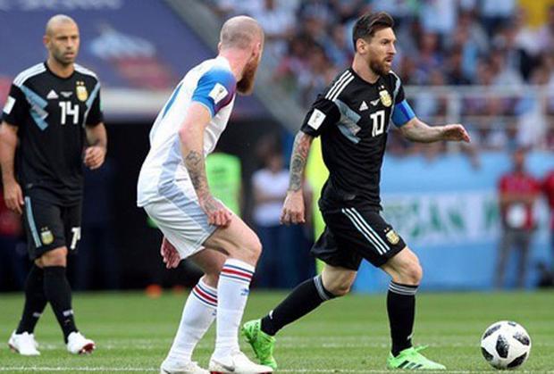 Argentina đã bị Iceland cầm hòa trong trận ra quân tại World Cup 2018.