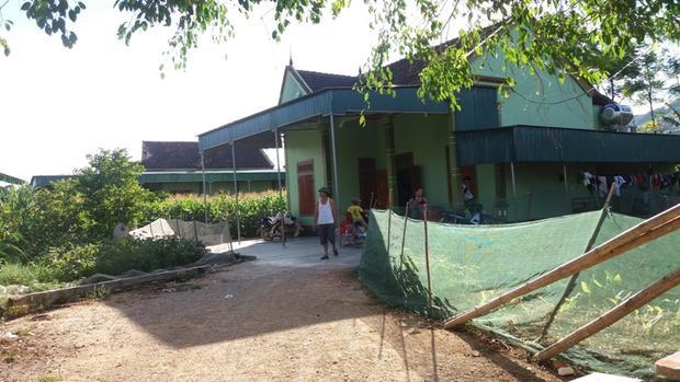 Ngôi nhà của vợ chồng bà Nhi
