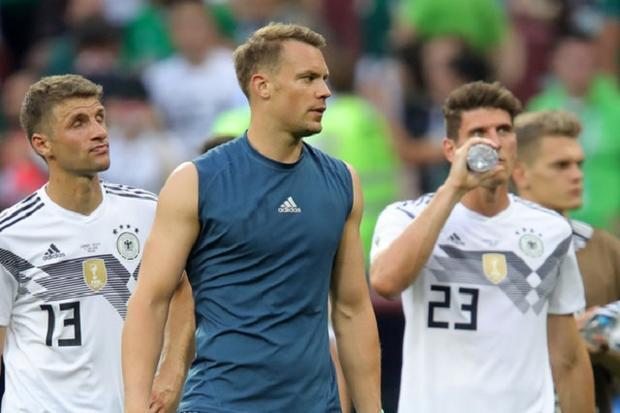 """ĐT Đức thua """"muối mặt"""" trước Mexico. Ảnh: Getty."""