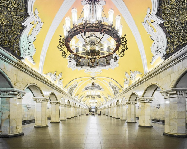 Ga Komsomolskaya, Moscow.