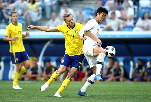 Đại diện châu Á cố gắng vùng lên nhưng không thể có được bàn gỡ trước Thụy Điển.