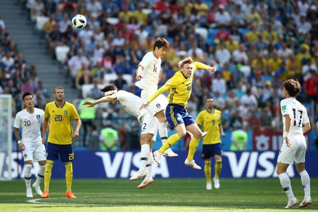 Hàn Quốc thất bại trước Thụy Điển vì công nghệ VAR. Ảnh: FIFA
