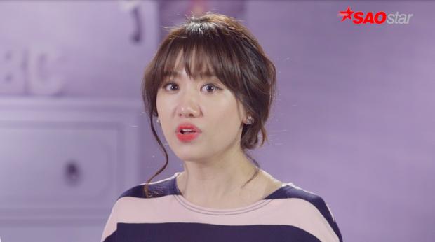 Hari Won có phần không đồng ý khi Trấn Thành chia sẻ ý tưởng cho quá nhiều người khi thực hiện thử thách Quay clip viral.