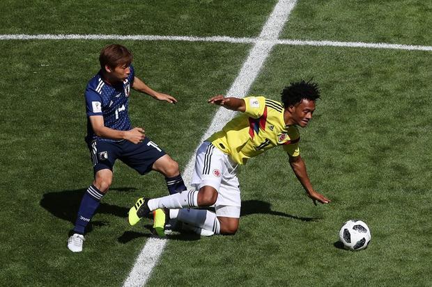 Nhật Bản đã khuất phục Colombia đầy thuyết phục. Ảnh: FIFA