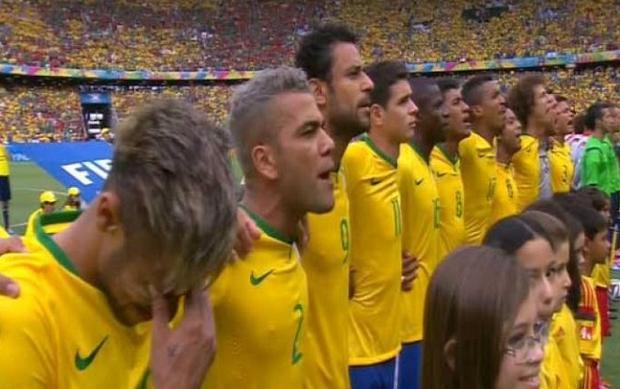 Neymar cũng từng rơi lệ. Ảnh: Fifa.com.