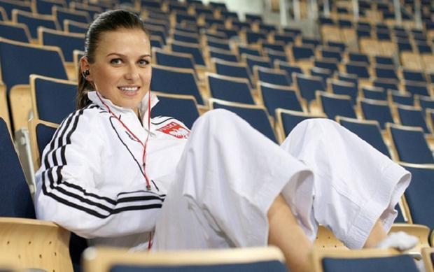 Ngoài ra, cô nàng WAGS nhà Lewandowski còn là một cao thủ môn karate.