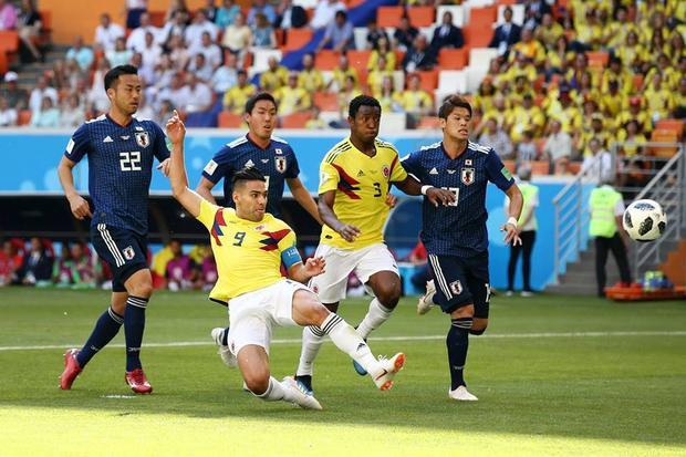 Tuyển Nhật (áo xanh) đã vươn tầm thế giới. Ảnh: FIFA