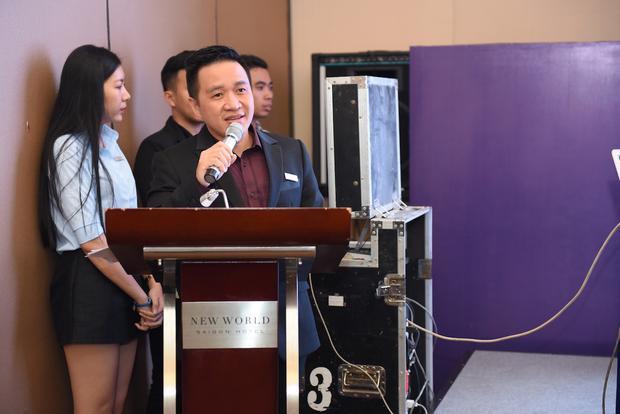 Đại diện FSCB và Future Clinic - ông Mai Duy Bảo.
