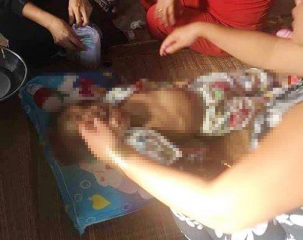 Bé gái 4 tuổi tử bất ngờ tử vong trước ngày sinh nhật. Ảnh: Tin tức Việt Nam.