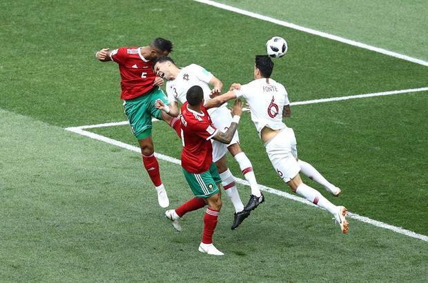 Trọng tài đã góp phần tiễn Morocco về nước. Ảnh: FIFA